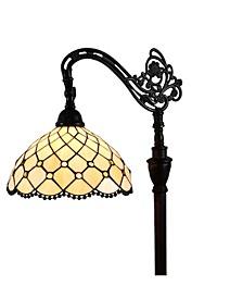 Tiffany Style Jewel Reading Lamp
