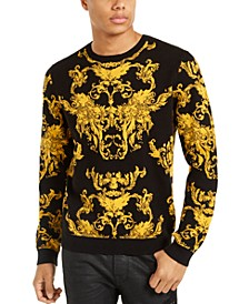 Men's Gold Baroque Sweater