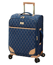 """London Fog Queensbury 20"""" Expandable Carry-On Spinner"""