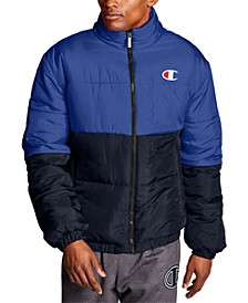 Men's Stadium Colorblocked Puffer Jacket