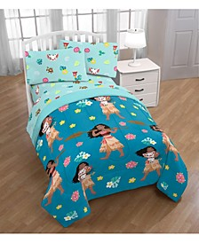 Moana 4-Piece Twin Bedding Set