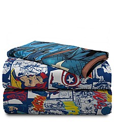 Avengers 3-Piece Twin Sheet Set