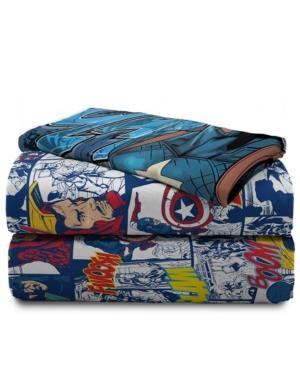 Avengers 3-Piece Twin Sheet Set Bedding