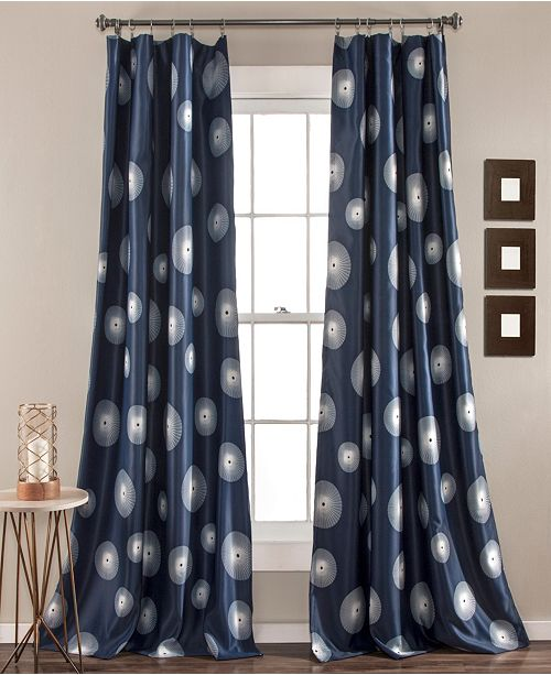 "Lush Decor Ovation 52"" x 84"" Curtain Set"