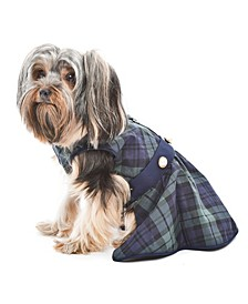 Scottish Plaid Taffeta Dog Dress