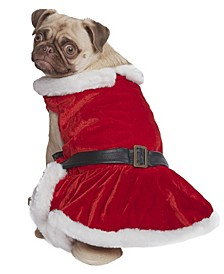 Mrs Claus Dog Dress