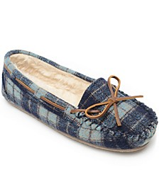 Plaid Cally Slipper