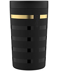 Jones 11-Oz. Stainless Steel Coffee Tumbler, Black Metallic Stripes