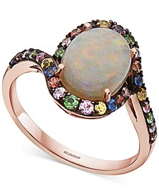 EFFY® Multi-Gemstone Statement Ring (3-3/8 ct. t.w.) in 14k Rose Gold