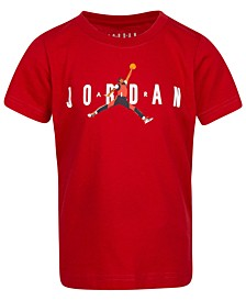 Little Boys Jumpman-Print Cotton T-Shirt