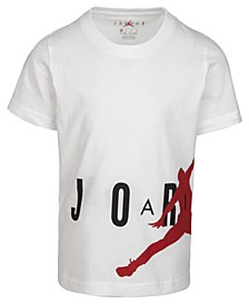 Little Boys Wrap-Around Jumpman-Print Cotton T-Shirt