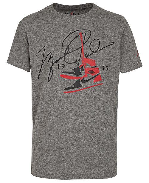 Jordan Toddler Boys Signature-Print T-Shirt