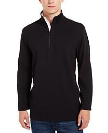 Men's Logo Quarter-Zip Sweater