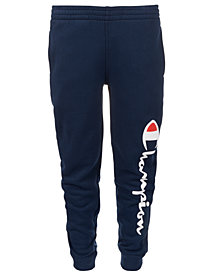 Champion Big Boys Logo-Print Jogger Pants