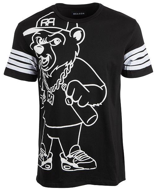 Reason Men's Bear Graphic T-Shirt