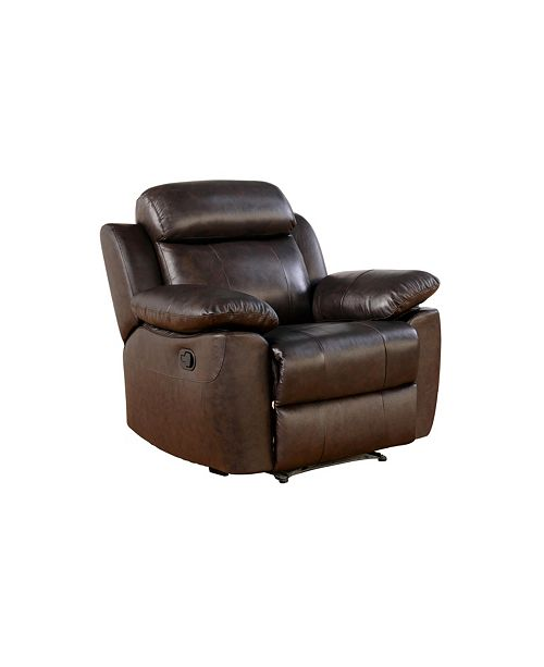 Abbyson Living Kamryn Leather Recliner