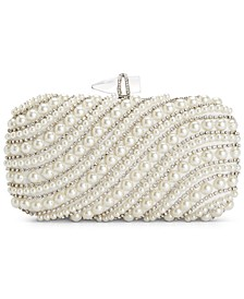 INC Lilah Pearl Clutch, Created For Macy's