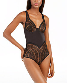 Calvin Klein Women's Medallion Lace Bodysuit