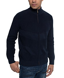 Men's Full-Zip Sweater Jacket