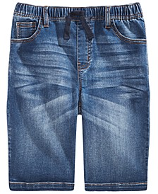 Big Boys Baxter Stretch Denim Shorts, Created For Macy's