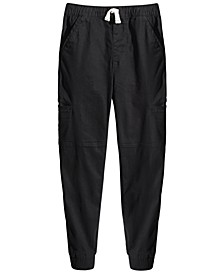 Big Boys Stretch Twill Cargo Joggers, Created for Macy's