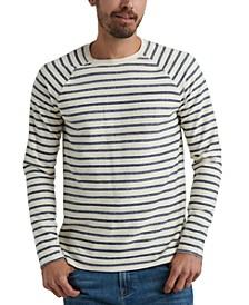Men's Long-Sleeve Striped T-Shirt