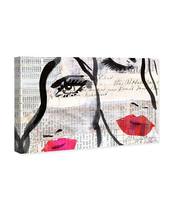 """Oliver Gal Sister Canvas Art, 24"""" x 16"""""""
