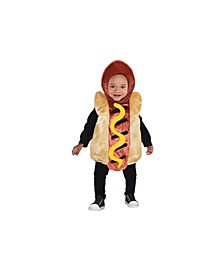 Baby Boys and Girls Mini Hotdog Costume