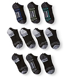 Tony Hawk Toddler Boy's and Big Boy's 10-Pack Half Cushion No Show Ankle Socks