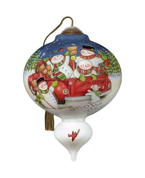 Ne'Qwa Snow Much Fun Ornament