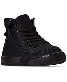 BILLY Big Boys Classic Lace High Top Casual Sneakers from Finish Line