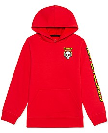 Big Boys Game Skull Hoodie
