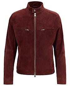 BOSS Men's T-Nakan Regular-Fit Biker Jacket