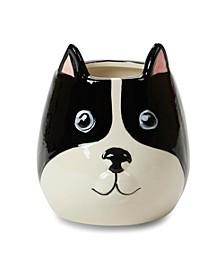 French Bulldog Ceramic Candle