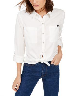 Tencel Button-Down Shirt