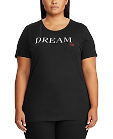 Plus Size Dream Cotton-Blend T-Shirt