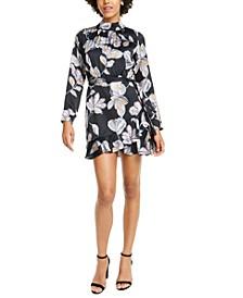 O'Keeffe Floral-Print Mini Dress