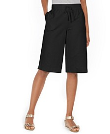 Petite Pull-On Skimmer Shorts, Created for Macy's