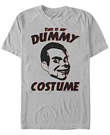 Goosebumps Classic Men's Dummy Halloween Costume Short Sleeve T-Shirt