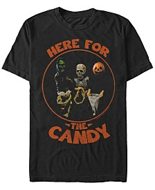 Halloween 3 Men's Kids In Costume Here For the Candy Short Sleeve T-Shirt