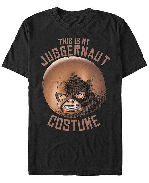 Fifth Sun Marvel Men's Juggernaut Halloween Costume Short Sleeve T-Shirt