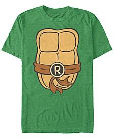 Nickelodeon Teenage Mutant Ninja Turtles Raphael Chest Costume Short Sleeve T-Shirt