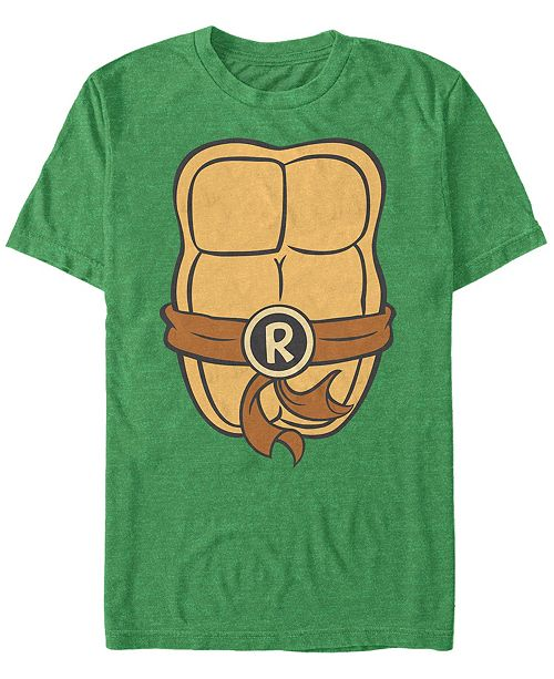 Fifth Sun Nickelodeon Teenage Mutant Ninja Turtles Raphael Chest Costume Short Sleeve T-Shirt