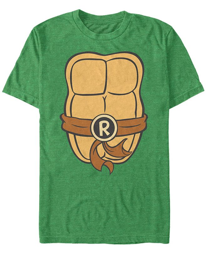 Fifth Sun Nickelodeon Teenage Mutant Ninja Turtles Raphael Chest Costume Short Sleeve T-Shirt