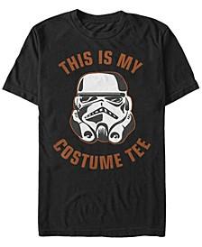 Star Wars Men's Storm trooper Halloween Costume Short Sleeve T-Shirt