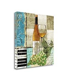 "Bon Vine by Keith Mallett Fine Art Giclee Print on Gallery Wrap Canvas, 30"" x 30"""