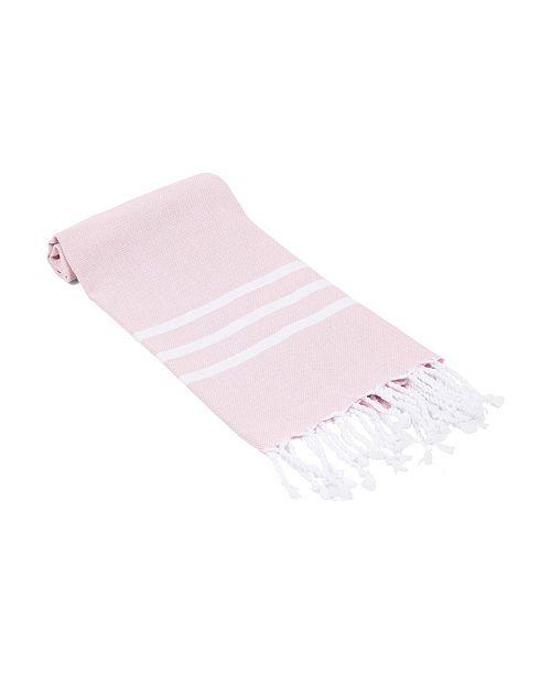 Olive and Linen Essential Trio Stripe Turkish Hand/Kitchen Towel
