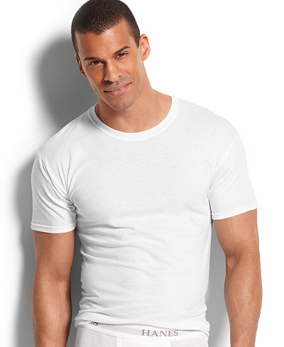 Hanes mens shop for and buy hanes mens online stylish for Polo shirt with undershirt