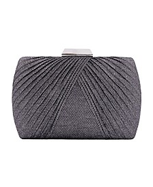 Bias Pleat Minaudiere