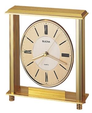 Bulova B1700 Grand Prix Clock
